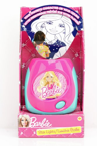 Barbie Star Lights Projector