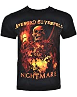 Avenged Sevenfold Inner Rage T Shirt (Black)