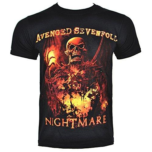 T Shirt Avenged Sevenfold Inner Rage (Nero) - X-Large