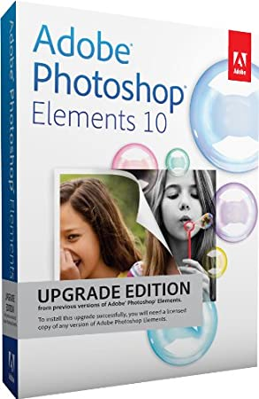 Adobe Photoshop Elements 10, Upgrade version (PC/Mac)