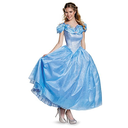 Disguise Women's Cinderella Movie Adult Prestige Costume