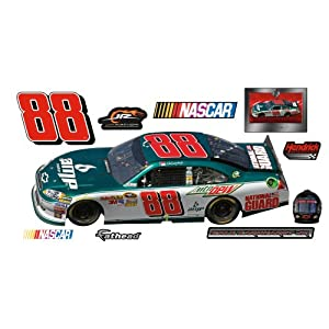 NASCAR Dale Earnhardt Jr #88 Amp Car 2011 Wall Graphic by Fathead