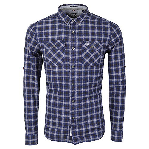 Superdry Grindlesawn L/s T-shirt XXL Steel G