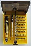 Jackly JK-6089A Torx kit tournevis 45 en 1 T3 T5 T7 téléphone mobile console