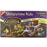 Sleepytime Kids Goodnight Grape Herbal Tea by Celestial Seasonings - 1 Box