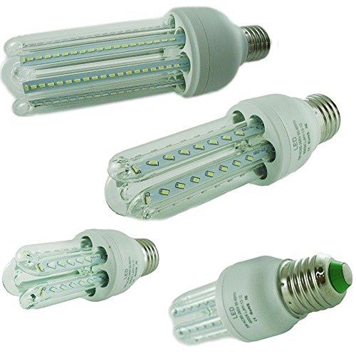 Kit 4 lampadine led attacco e27 12w 120w faretto luce for Lampadine led e27 prezzi