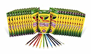 Crayola Colored Pencils 12 Ct (Set of 24 Each)