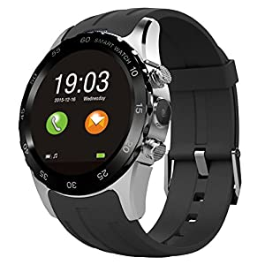 Phone Watch, Otium® S2 Round Touch Screen Gesture Control Bluetooth Android Smart Mobile Phone Wristwatch For Samsung IOS iPhone Men Women
