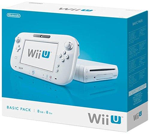 Nintendo Wii U - Konsole, Basic Pack, 8 GB, weiß