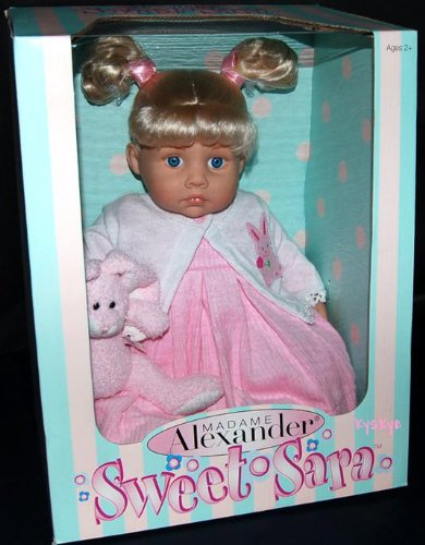 "Madame Alexander 18"" Sweet Sara Baby Doll With Pink Bunny front-465540"