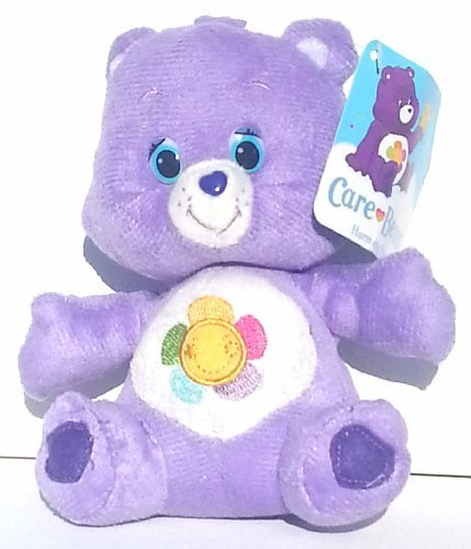 "Care Bear Sitting Plush 6.5"" ~ Harmony Bear - 1"