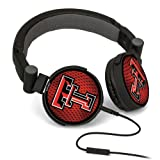 NCAA Texas Tech Red Raiders DJ Style Headphones at Amazon.com