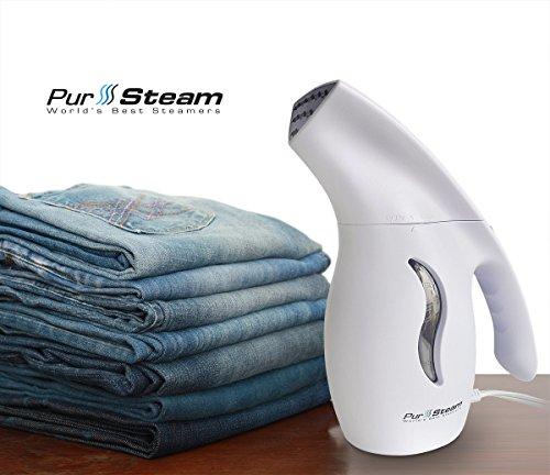 PurSteam Fabric Steamer, Fast-Heat Aluminum Heating