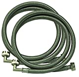 Appliances Packages Best Deals - Eastman 48377 Washing Machine Hose with 90-Degree Elbow, 1-Pair