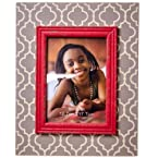 Coral Accent Picture Frame