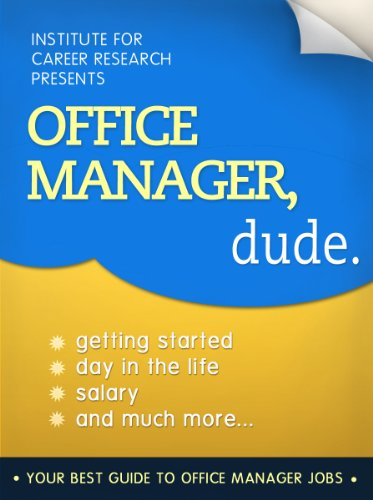 Office Manager Jobs (Career Book)