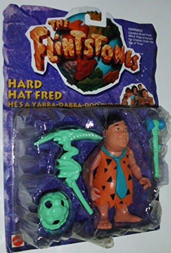 The Flintstones Hard Hat Fred Figure - 1