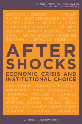 Large book cover: Aftershocks: Economic Crisis and Institutional Choice
