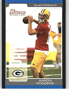 2005 Bowman #112 Aaron Rodgers RC - Green Bay Packers (RC - Rookie Card)(Football... by Bowman