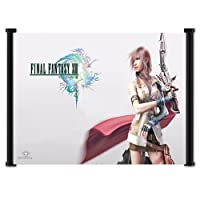 Final Fantasy Xiii 13 Game Fabric Wall Scroll Poster 21x16 Inches by Wall Scrolls