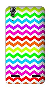 SWAG my CASE PRINTED BACK COVER FOR LENOVO A6000 Multicolor