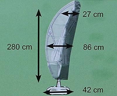 Schutzhülle Comfort Ampelschirm auch für Hartman Scope 350 cm Sonnenschirm Schirmhülle Abdeckung von Consul Garden auf Gartenmöbel von Du und Dein Garten