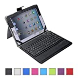 51Gvg Ve5RL. SL160  NEWSTYLE Removable Detachable Wireless Bluetooth ABS Keyboard PU Leather Case Tablet Stand for iPad 4, iPad 3 & iPad 2 2nd 3rd 4th Generation Christmas Gift!