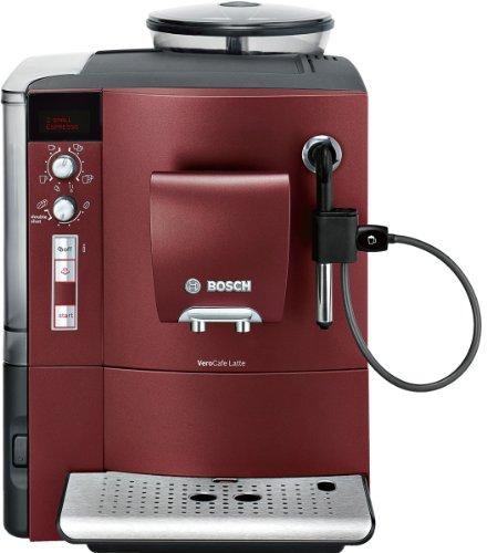 Bosch TES50356DE Kaffeevollautomat VeroCafe Latte (Cappuccinatore) dunkelrot thumbnail