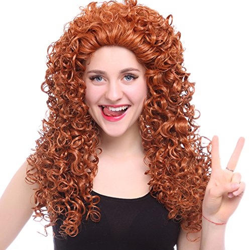Halloween 2017 Disney Costumes Plus Size & Standard Women's Costume Characters - Women's Costume CharactersBrave Movie Disguise Pixar Merida Adult Costume Wig Cosplay Wig