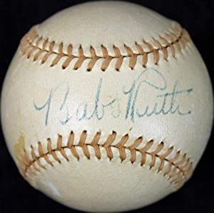 Yankees Babe Ruth Signed Onl Ford Frick Spalding Baseball #v02234 - PSA DNA Certified... by Sports Memorabilia