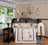 13 Pc Giraffe Crib Bedding