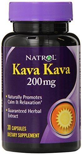 Natrol Kava Kava 200mg Capsules, 30-Count