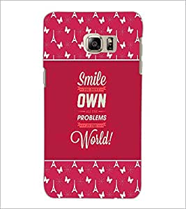 PrintDhaba Quote D-2614 Back Case Cover for SAMSUNG GALAXY NOTE 5 (Multi-Coloured)
