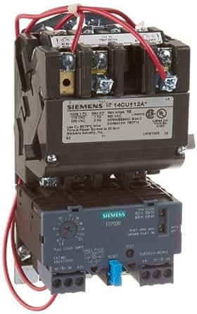 Siemens 14cud12aa heavy duty motor starter solid state for Siemens manual motor starter