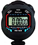 ProCoach Sports Stopwatch Timer RS-013 - Water Resistant, Large Display • with Date, Time and Alarm Function • Ideal for Sports Coaches and Referees