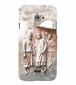 Lord Sai Baba Cute Fashion 3D Hard Polycarbonate Designer Back Case Cover for InFocus Bingo 50
