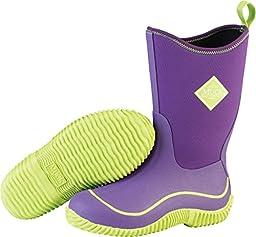 MuckBoots Hale Boot,Purple/Green,4 M US Big Kid