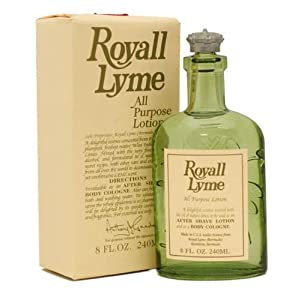 Royall Lyme By Royall Fragrances For Men. Aftershave Lotion Cologne 8 Ounces