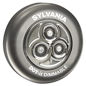 Sylvania DOT-it LED Dimmable Light, Silver