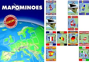 Mapominoes Europe by Wild Card Games
