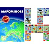Wildcard Games Mapominoes Europe The Ultimate Geography Gameby Wildcard Games