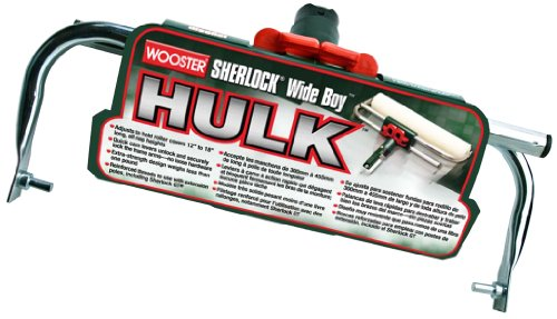 Wooster Brush BR047-18 Sherlock Wideboy Hulk Adjustable Frame, 18-Inch (Paint Roller Tray Inserts compare prices)