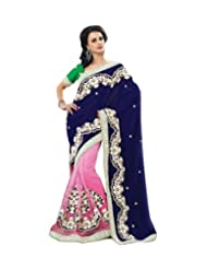 Triveni Designer Inspired Beautiful VelvetPalla Saree 2201