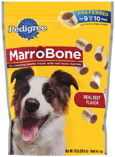 Pedigree Marrobone Snack Food For Dogs, 26-Ounce