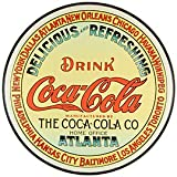 "Tin Sign ""Coke - Round Keg Label"""