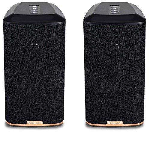 Klipsch RW-1 Wireless Speaker, Black (Pair)