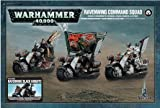 Warhammer 40,000 Dark Angels Ravenwing Command Squad / Ravenwing Black Knights (2013, 3 figures)