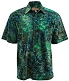 Green River Cotton Batik Shirt By Johari West