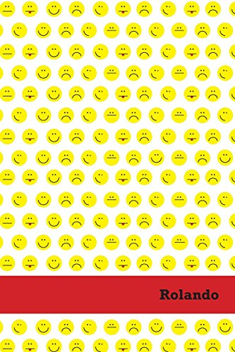 Etchbooks Rolando, Emoji, College Rule, 6 X 9', 100 Pages