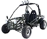 BMS Power Kart 150 BLACK Gas 4 Stroke 149cc Buggy Go Kart